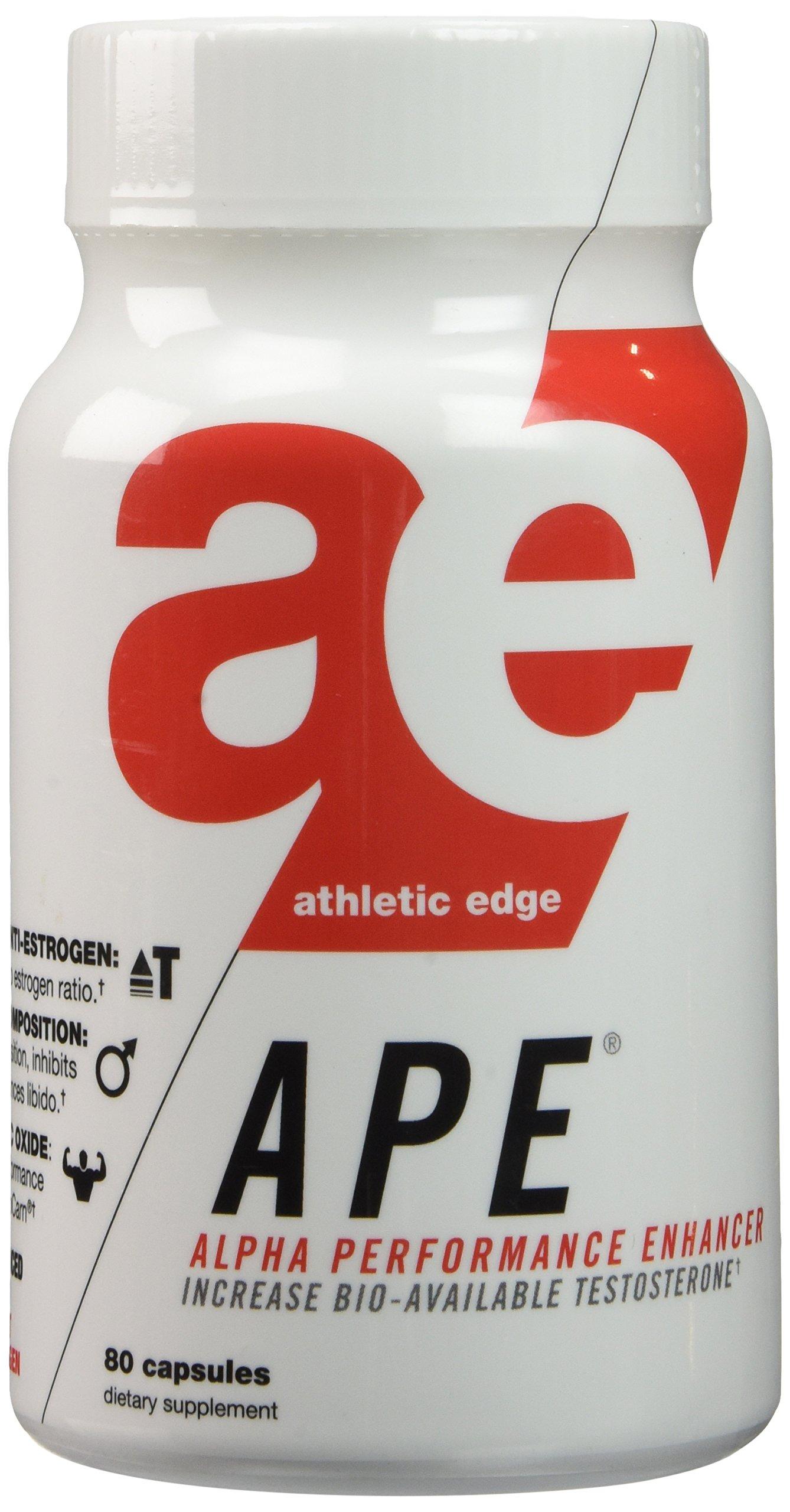 Athletic Edge Nutrition APE Capsules, 80 Count