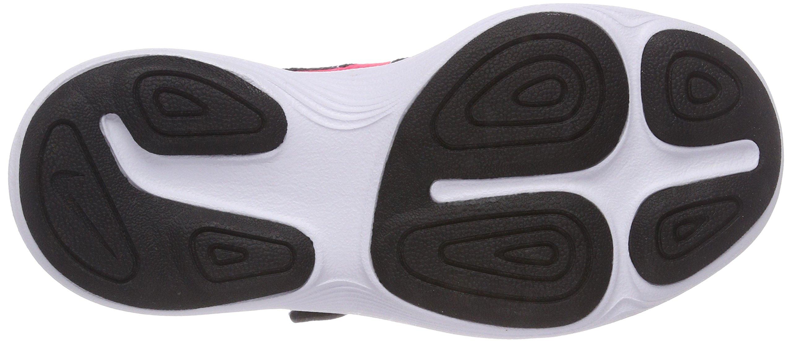 Nike Girls' Revolution 4 (PSV) Running Shoe, Black/Racer Pink - White, 11.5C Regular US Little Kid by Nike (Image #3)