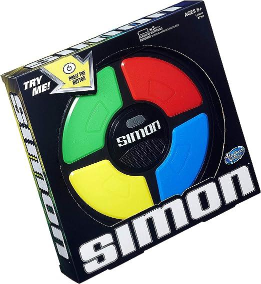 Juego Simon de Hasbro Gaming, Popular Edition: Amazon.es: Juguetes y juegos