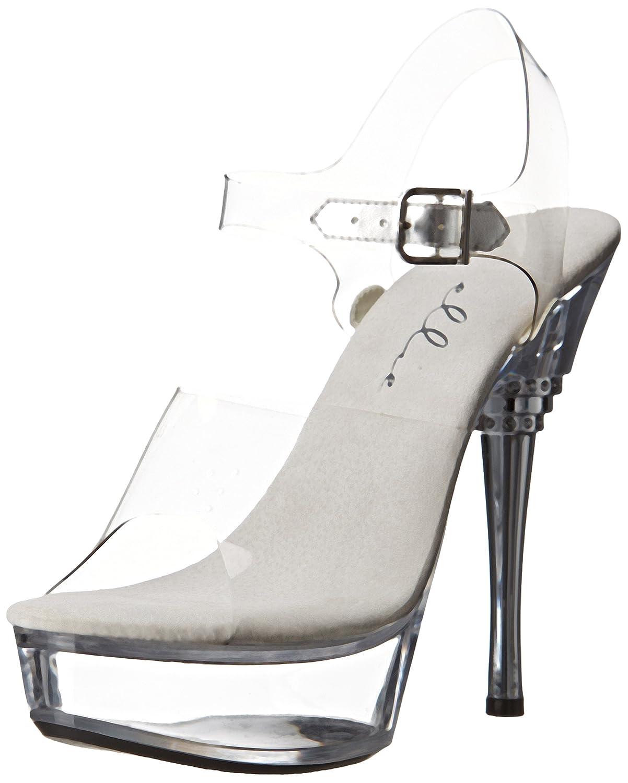 675ab9a5f5a Ellie Shoes Women s 678 Brook Brook Brook Platform Sandal B00JEF30JA 8 B(M)  US