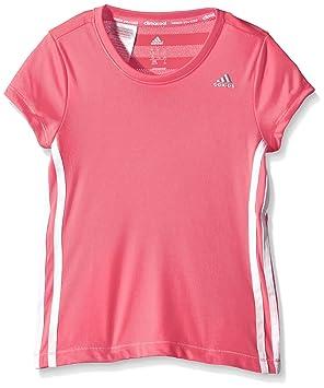Adidas Clima T-Shirt Camiseta, Mujer, Rosa/Blanco / Plata, 164: Amazon.es: Deportes y aire libre
