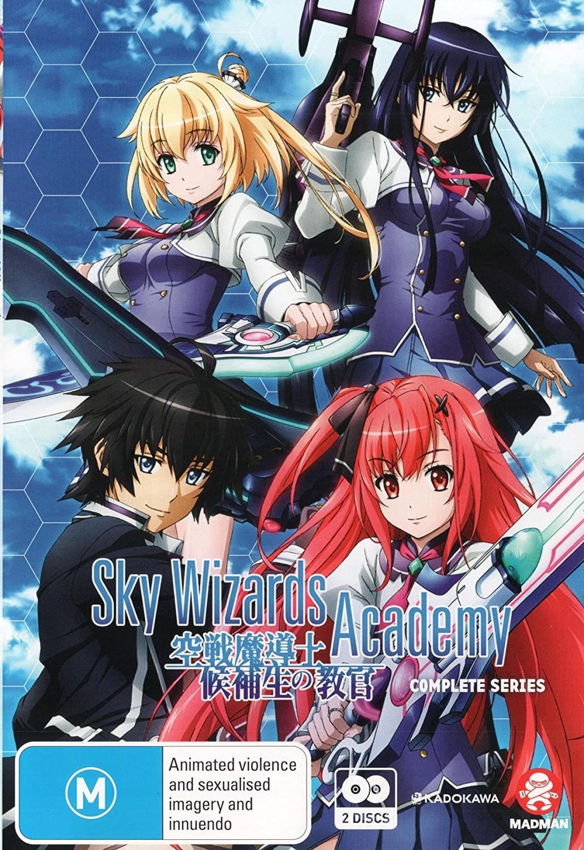 Amazon com sky wizards academy complete series anime manga non usa format pal region 4 import australia movies tv