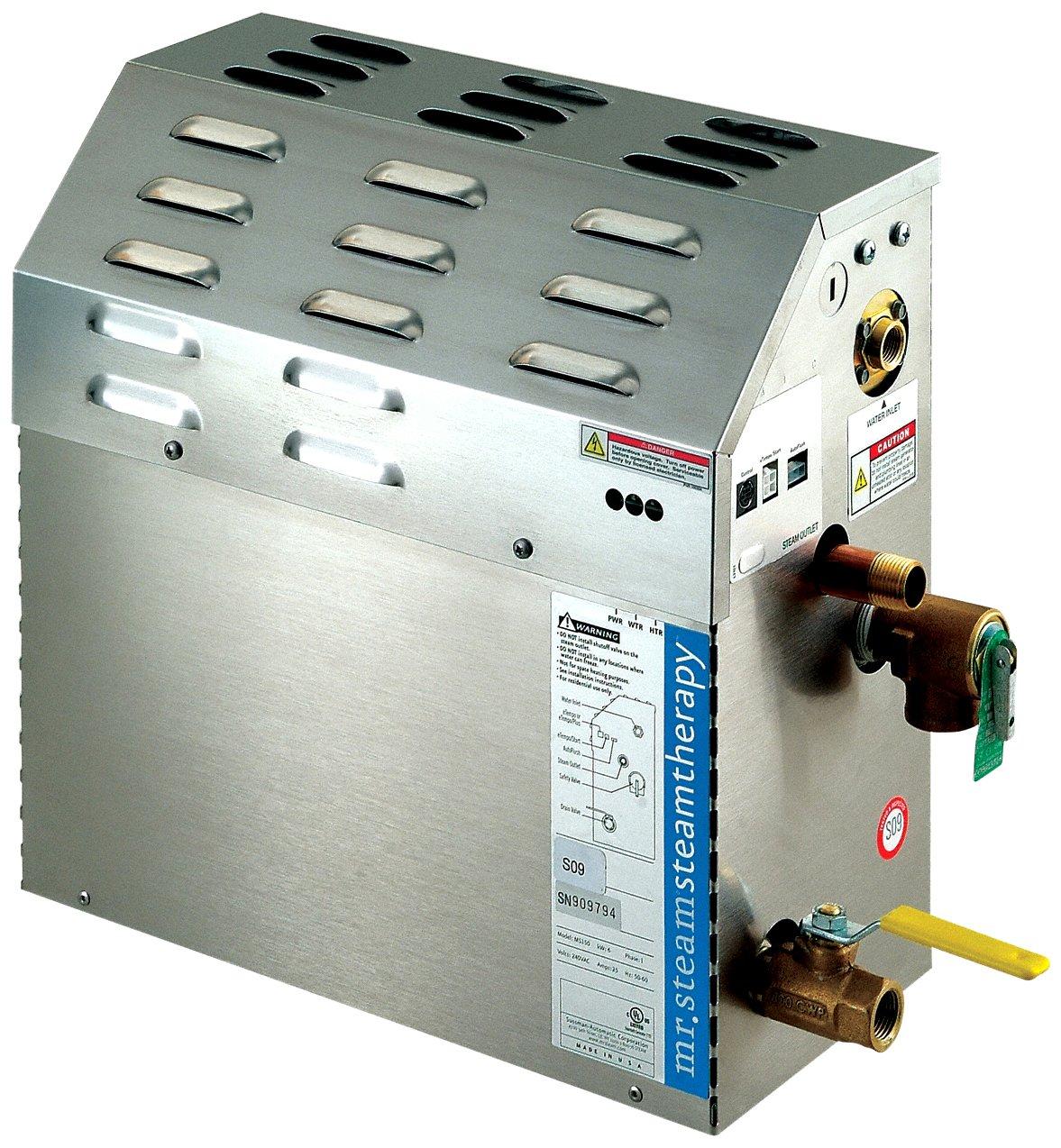 Mr. Steam Ms90eb3 eTempo Ms90e 5 Kw 208v 3ph Steambath Generator Only