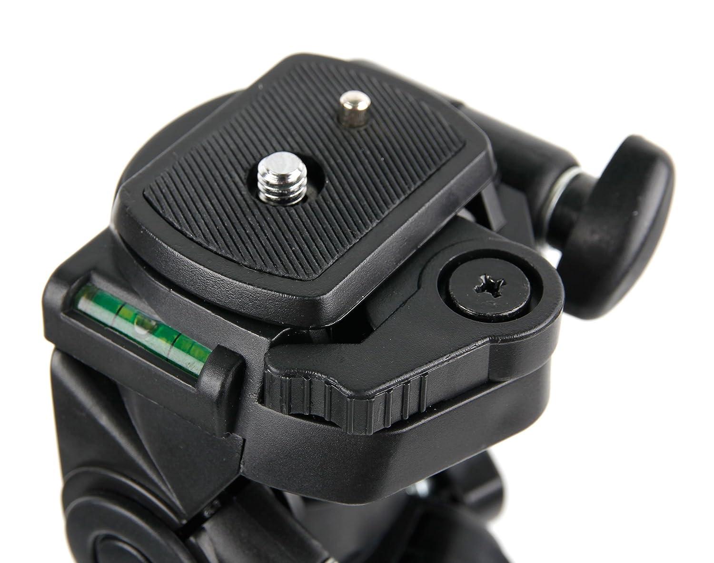 DURAGADGET Tr/ípode con Nivel De Burbuja para C/ámara Nikon D3400 Profesional
