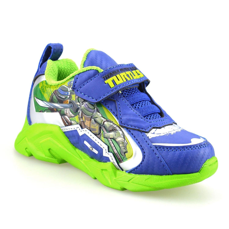 Boys Kids Teenage Mutant Ninja Turtles Casual Summer Light Up Trainers Shoes
