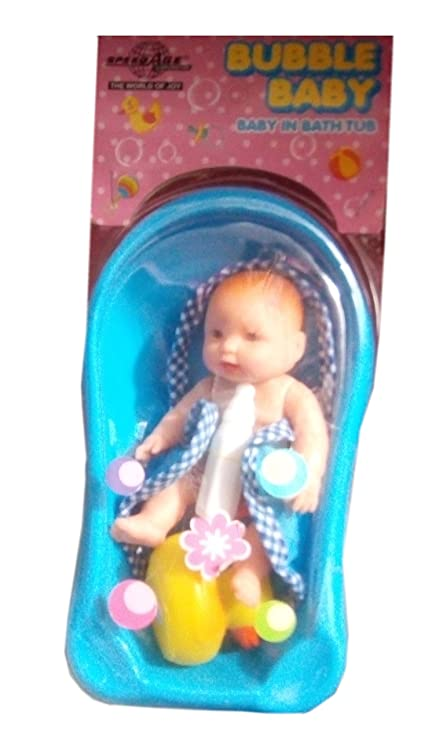 Buy Bubble Baby In Bath Tub(Multi-Color) Online at Low Prices in ...