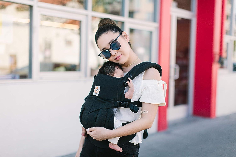 Kindertrage Tragesystem Midnight Blue Ergobaby Babytrage f/ür Neugeborene ab Geburt 4in1 Omni 360 Baumwolle