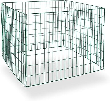 DEMA metal de compostador de Green Line en caja de cartón: Amazon ...