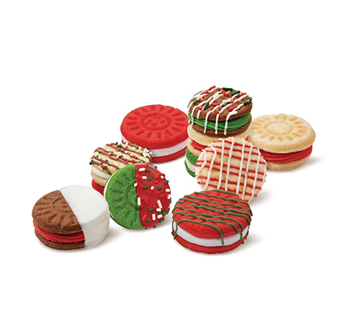 Amazon.com: Wilton 2105-3071 Sandwich 24-Cavity Cookie Pan: Novelty Cake Pans: Kitchen & Dining