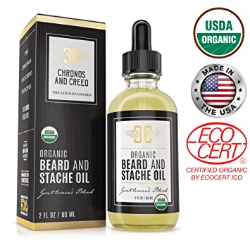 Chronos And Creed - Organic Beard Oil Moisturizer (2oz)