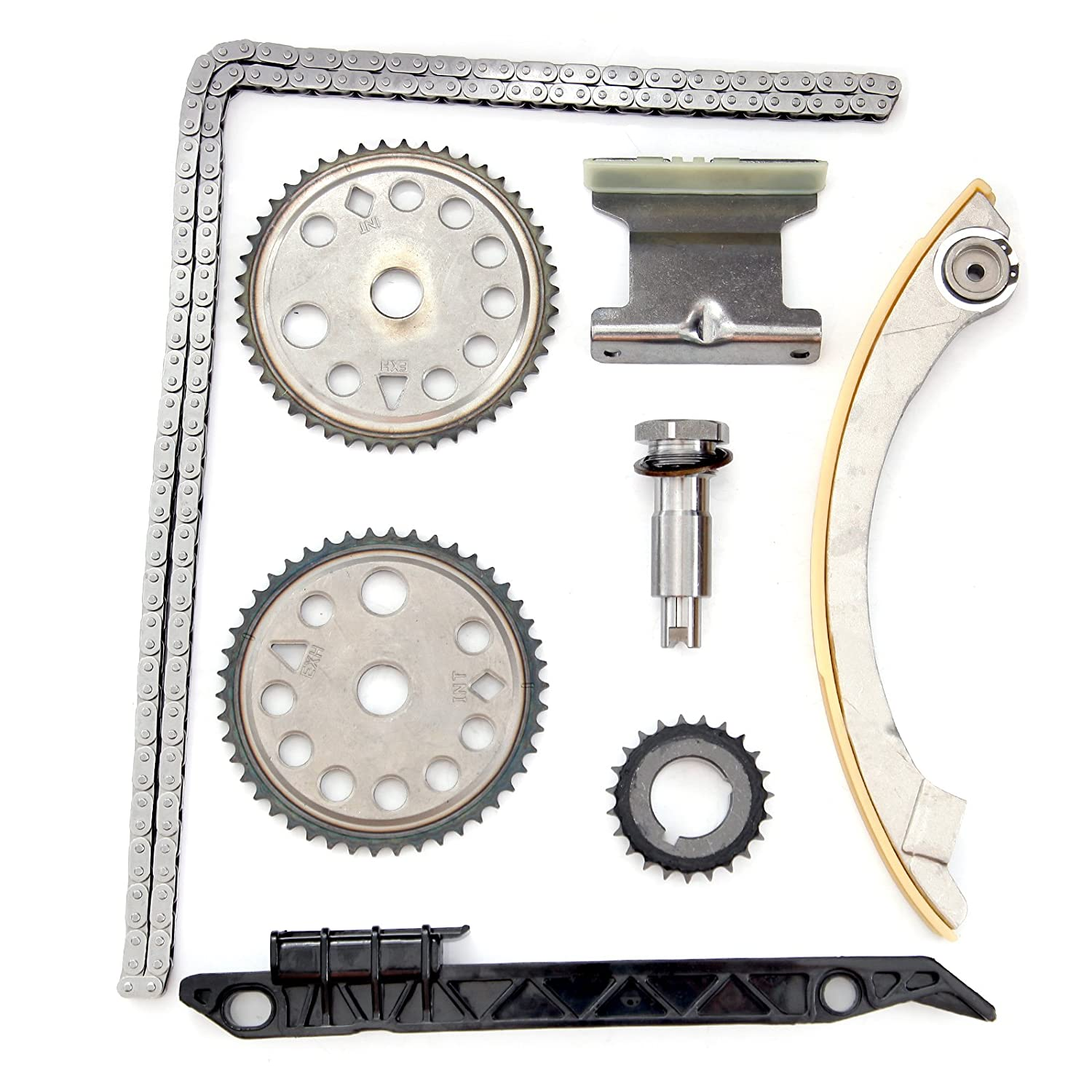 Timing Chain Kit Fits 00 11 Gm 20l 22l Dohc Ecotec 2002 Saturn Vue 2 Liter Engine Diagram Z22se L61 L42 Lsj Lnf Set Automotive