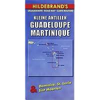 Carte routière : Kleine Antillen - Guadeloupe, Martinique