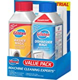 Glisten Appliance Cleaners Value Pack, Dishwasher Magic (12 Fl. Oz.), Washer Magic (12 Fl. Oz.), 1-Use Disposer Cleaner, 1-Use Microwave Cleaner and 2-Use Disposer Freshener