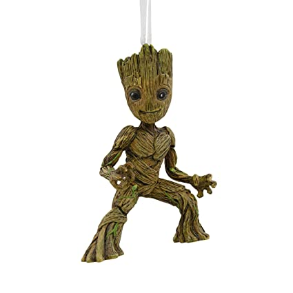 hallmark marvel guardians of the galaxy baby groot christmas ornaments