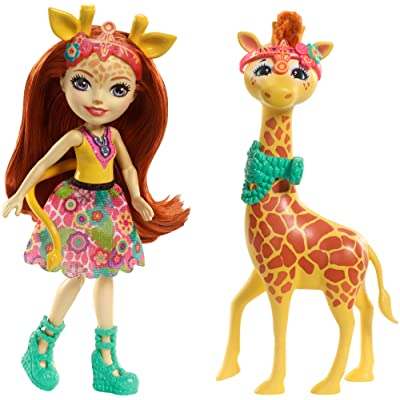 Enchantimals Gillian Giraffe Dolls: Toys & Games