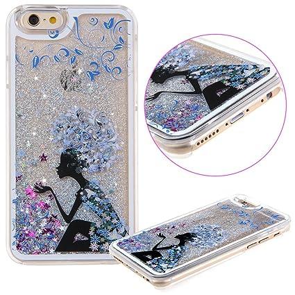 Amazon.com: daminfe iPhone 6 Plus Estuche Duro, lujo diseño ...