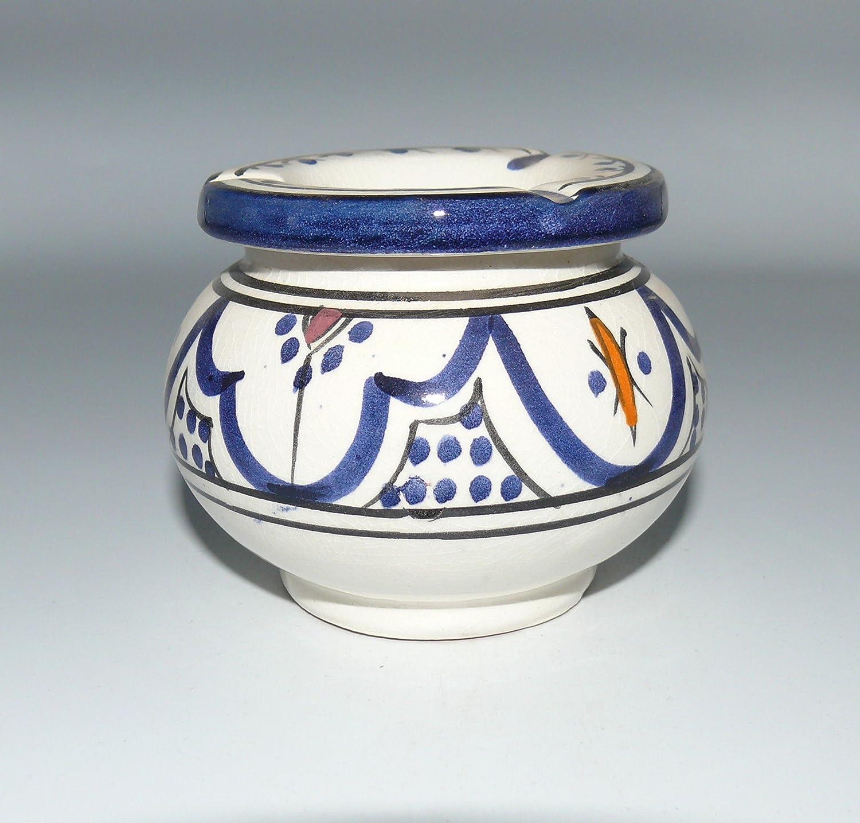 Marokkanischer Aschenbecher Keramik Windascher Orient Ø 12 cm