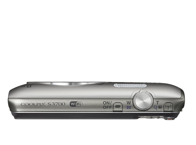 Nikon coolpix s3700 digitalkamera 26 zoll silber amazon kamera fandeluxe Gallery