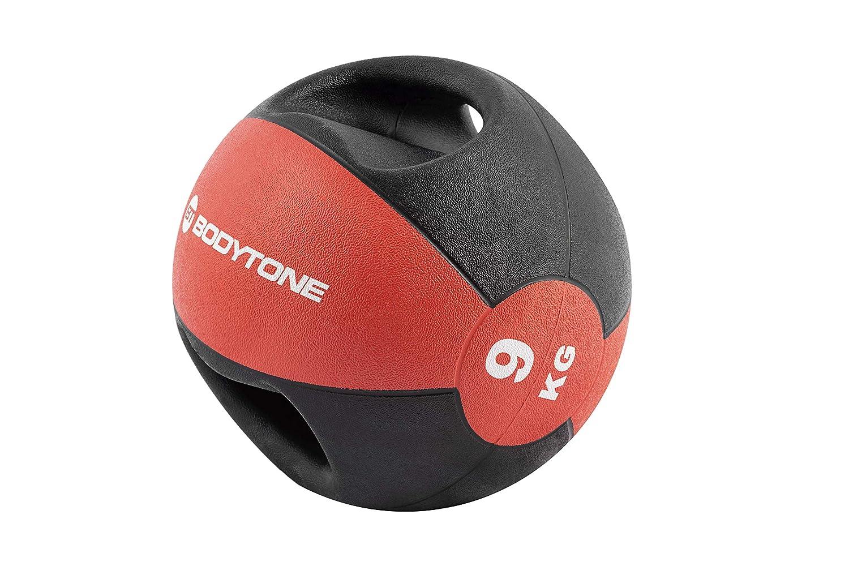 BT BODYTONE Balón Medicinal de Goma con Agarre de 9kg: Amazon.es ...
