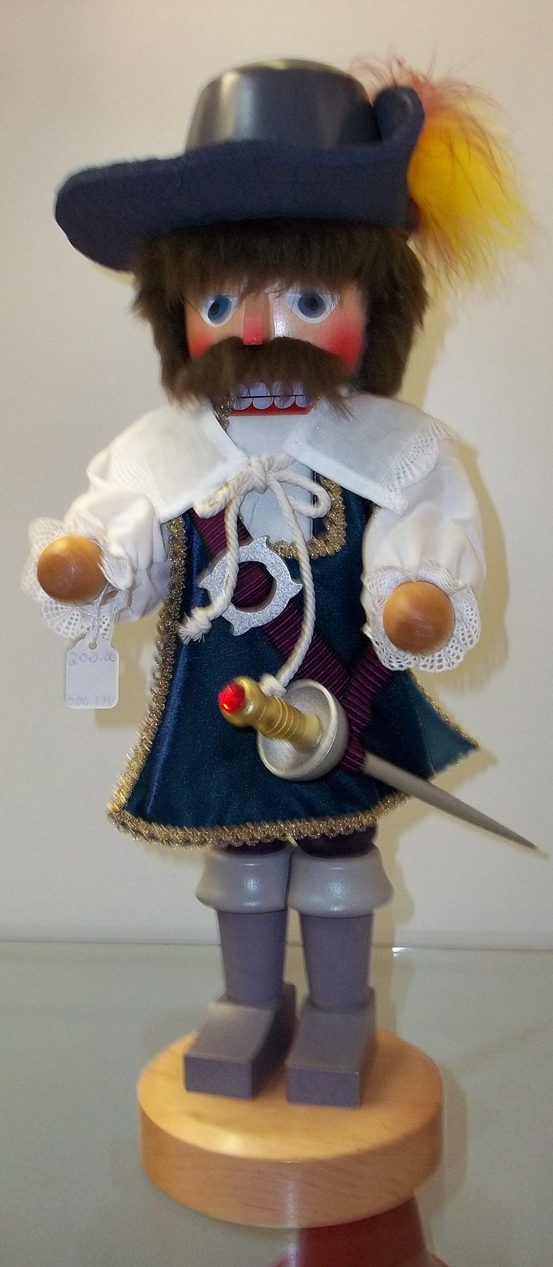 Christian Ulbricht Musketeer Nutcracker by Ulbricht