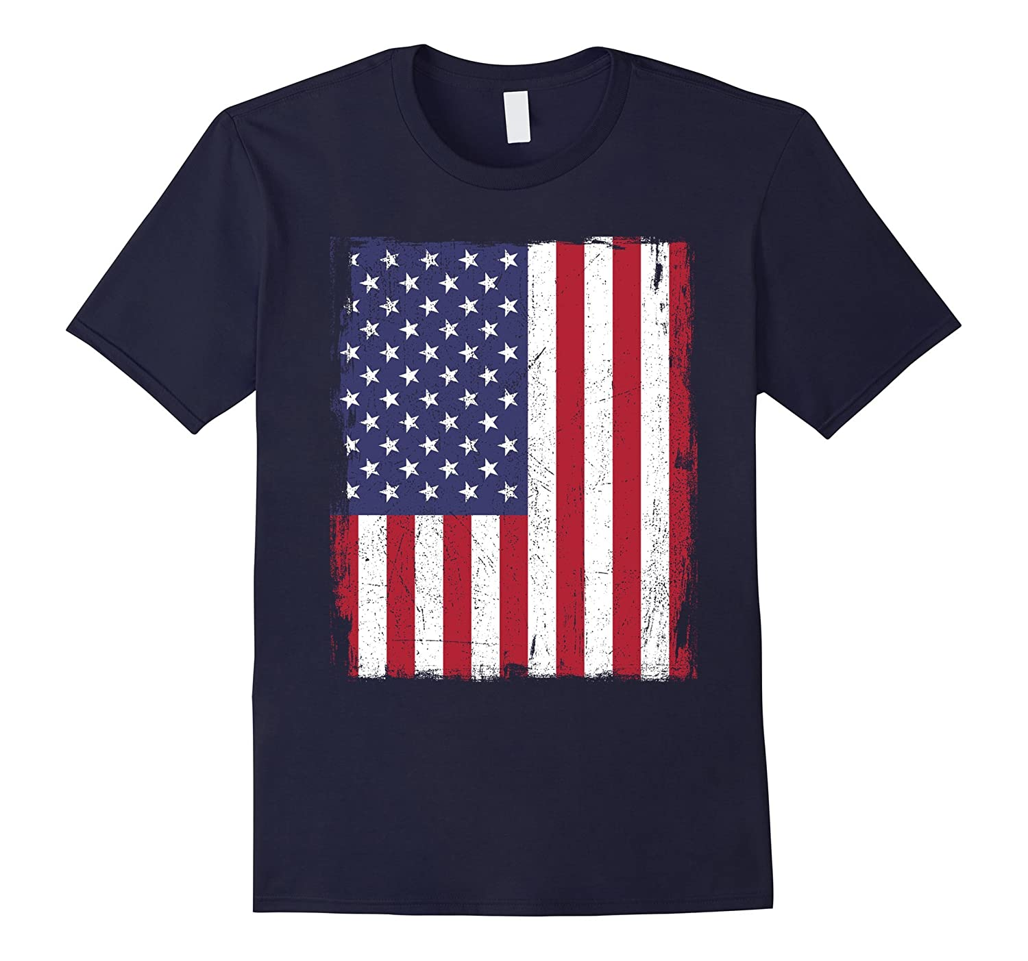 America US USA 4th Fourth Day of July American Flag T-Shirt-Art