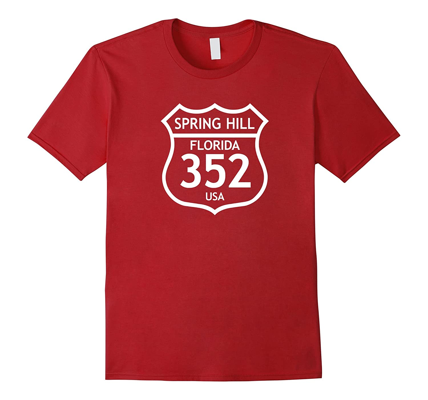 352 Spring Hill FL Florida Love Shirt, Brooksville Area Code-ah my shirt one gift