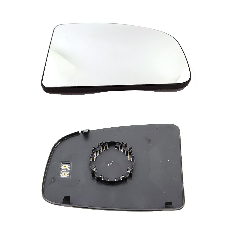 TarosTrade 57-0200-L-46077 Spiegelglas Heizbar Oberes Teil Links DoctorAuto LTD