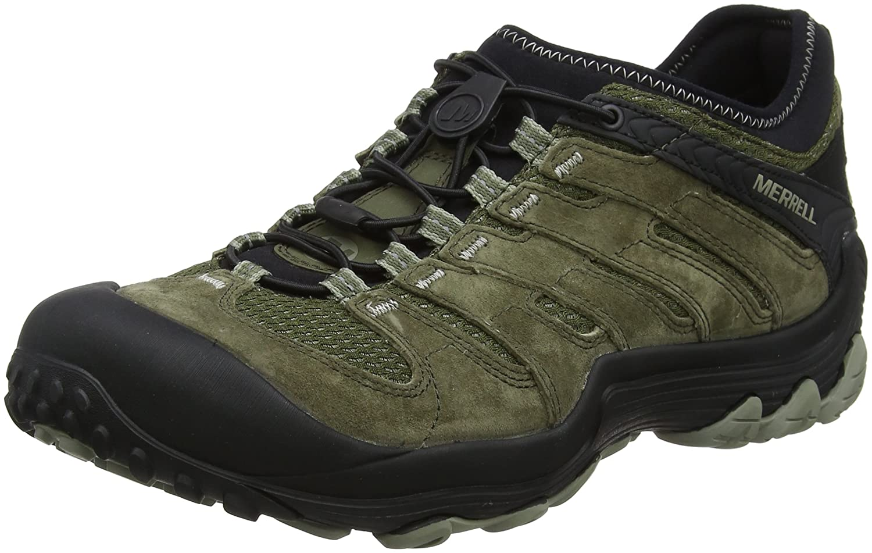 Merrell Women's Chameleon 7 Limit Stretch Hiking Boot B071FFSSDH 10 D(M) US|Dusty Olive Men's