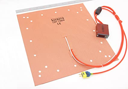 Keenovo Silicone Heater Cr10 S5 3d Printer Heatbed Build Plate