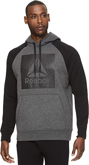 REEBOK Boys Hooded Zip Front Long Sleeve Athletic Jacket M or L Choice Grey NWT