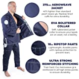 Gold BJJ Jiu Jitsu Gi - Ultra Lightweight Men's