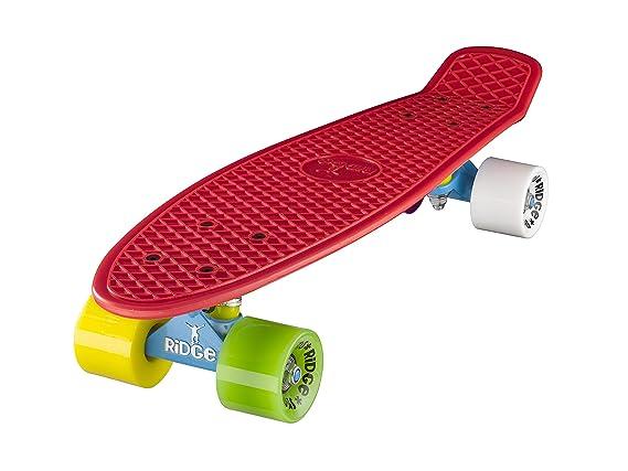 Ridge Mix iT Up Retro Cruiser Skateboard, Unisex, 58 cm: Amazon.es: Deportes y aire libre