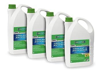 Ravenol j4d2091 – 1 de anticongelante del líquido refrigerante – Casco híbrida japonés refrigerante proteger fl22