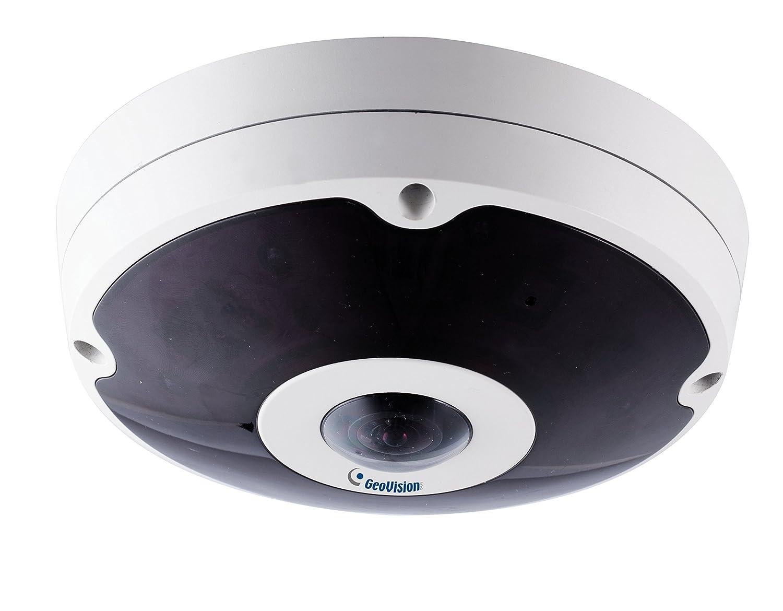 Geovision GV-FER12203 12MP H.264 Low Lux Fisheye Rugged IP Camera White
