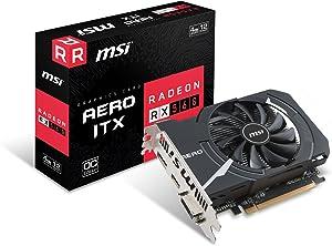 MSI Gaming Radeon RX 560 128-bit 4GB GDDR5 DirectX 12 VR Ready CFX Graphcis Card (RX 560 Aero ITX 4G OC)