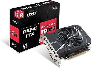MSI Radeon RX 560 DirectX 12 RX 560 4GT LP OC 4GB 128-Bit GDDR5 PCI Express x16