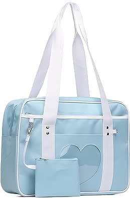 SteamedBun Ita Bag Heart Japanese Bags Kawaii Large Shoulder Anime Purse
