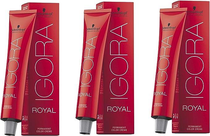 Schwarzkopf Igora Royal 8-4 3er Pack (3 x 60 ml): Amazon.es ...