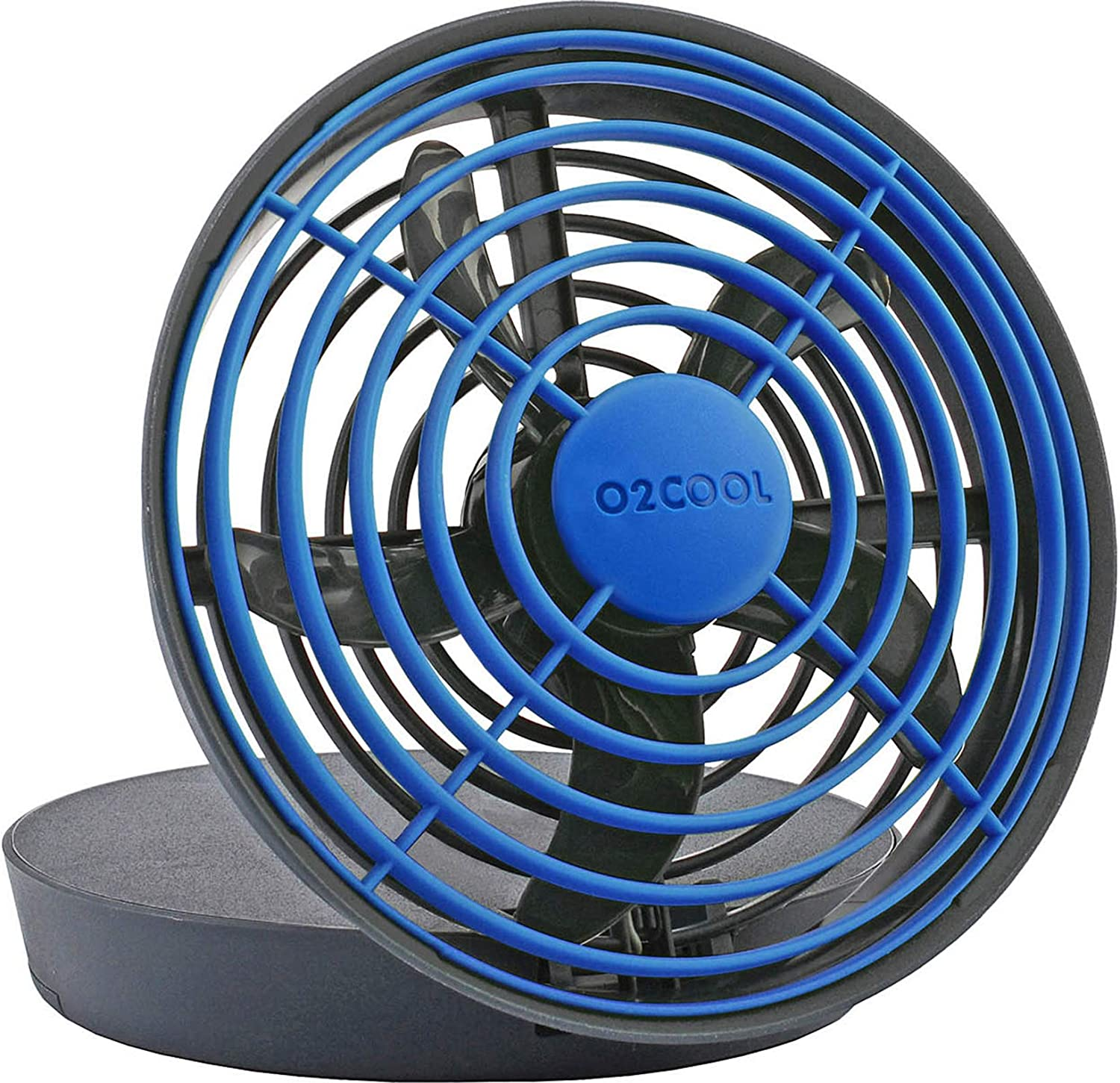 O2 COOL 5 Inch USB Portable Desktop Fan - 2 Speed Control, Compact And Lightweight Design