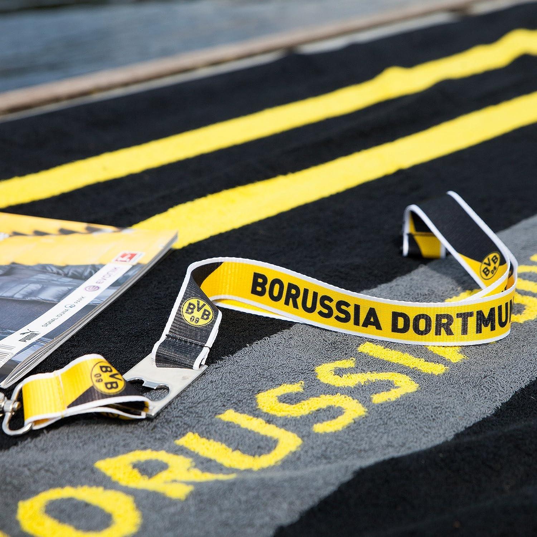 Borussia Dortmund BVB 09 BVB-Schl/üsselband mit Flaschen/öffne