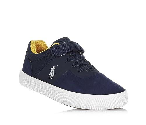 Polo Ralph Lauren - Zapatos de Cordones para niño Azul Size: 27 ...