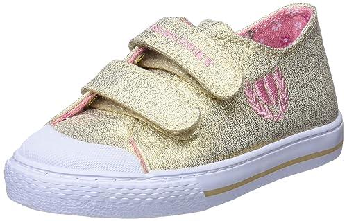 Pablosky 948780, Zapatillas para Niñas, Dorado, 34 EU: Amazon.es: Zapatos y complementos