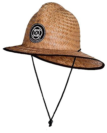 340229be903 Saint Florian Clothing Straw Firefighter Hat- Large XL 60cm (Large XL 60cm
