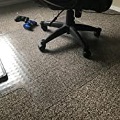 Amazon Com Chair Mat For Carpet Floors With Lip 48 X 36