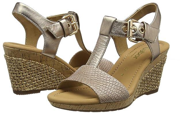 Amazon.com: Gabor para mujer Karen moderno sandalias: Shoes