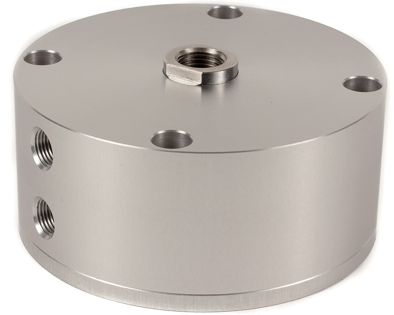 Fabco-Air A-521-X Original Pancake Cylinder, Double Acting, Maximum Pressure of 250 PSI, 2-1/2' Bore Diameter x 1/2' Stroke 2-1/2 Bore Diameter x 1/2 Stroke FAB   A-521-X
