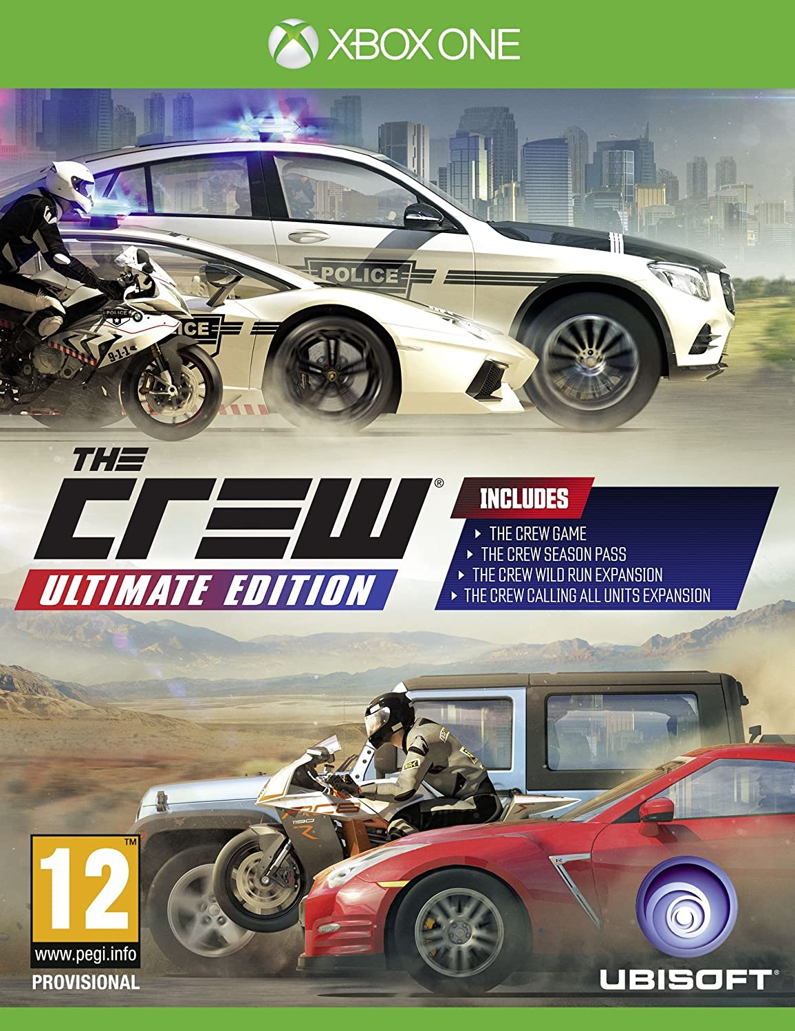 The Crew Ultimate Edition Greatest Hits [Importación Inglesa ...