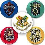 Efgstore.in: (Official Warner Bros) Harry Potter Hogwarts Badge Set