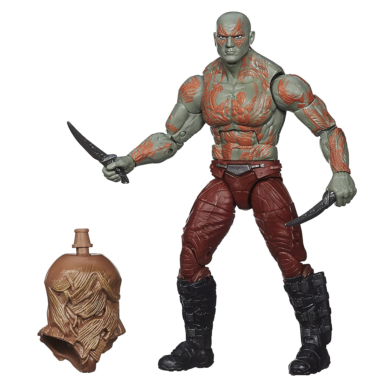 Marvel Legends Guardians of the Galaxy Drax Action Figure,6 Inch Hasbro A7907000