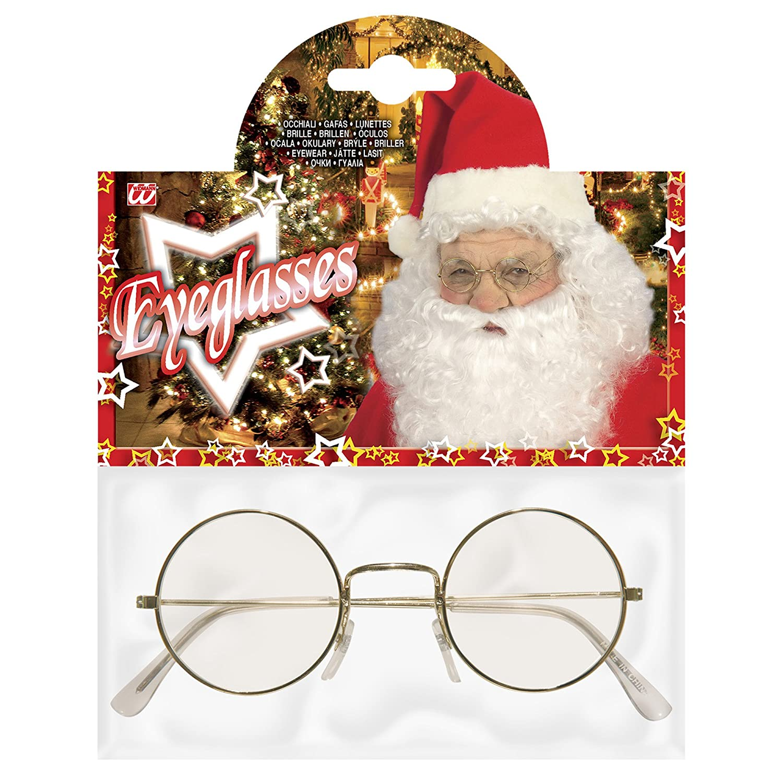 Weihnachtsmann Brille Nikolaus Kostüm Verkleidung Maske: Amazon.de ...